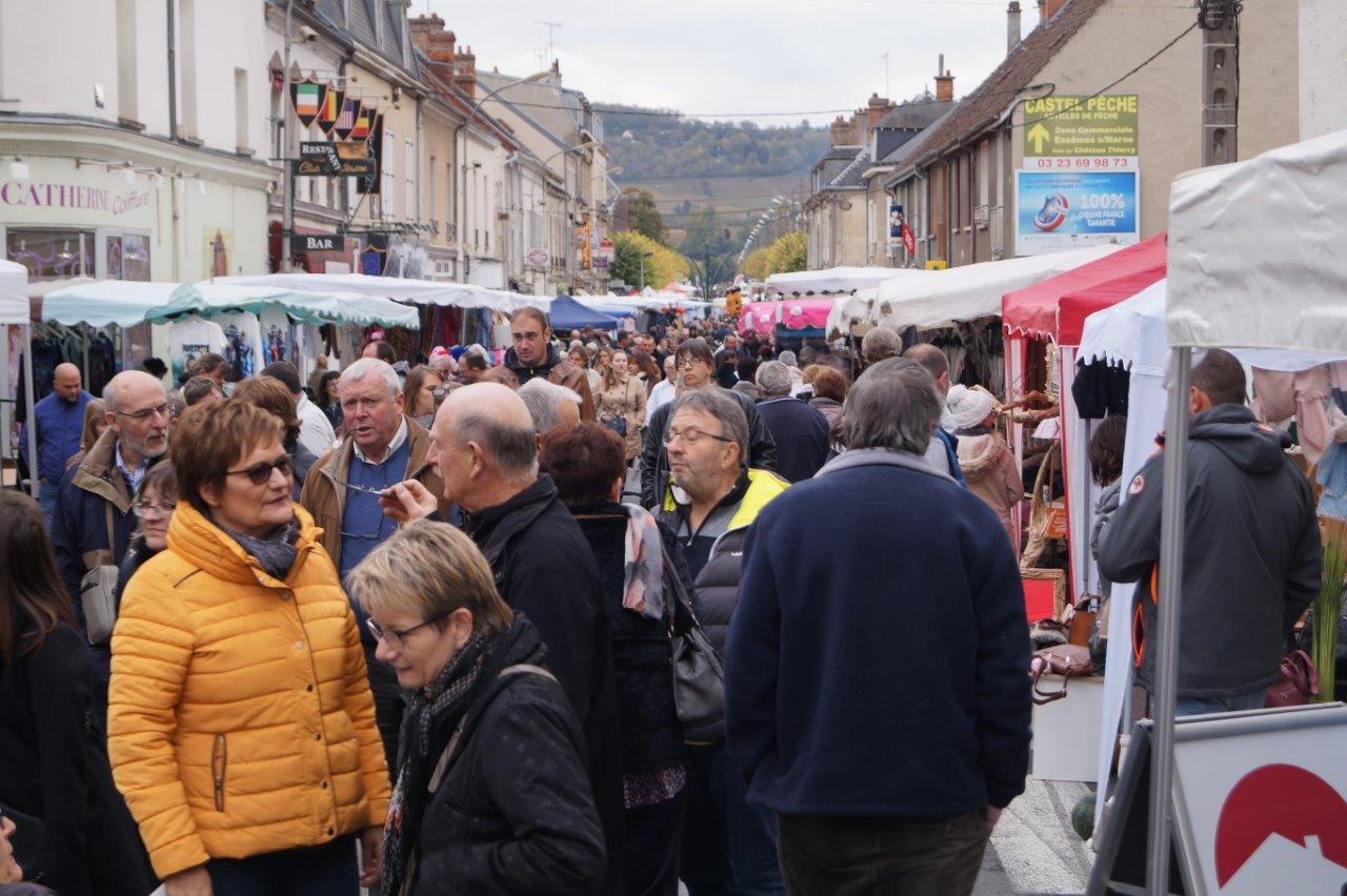 La foire Saint-Crépin de Dormans est LE rassemblement avant l'hiver.