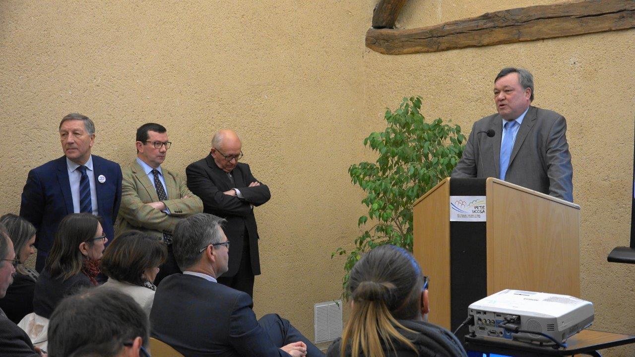 Philippe N'Guyen, vice-président du Codev et président de la Commission III.