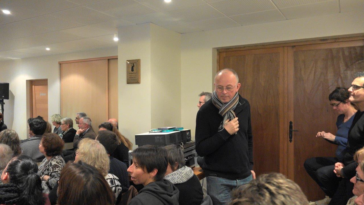 Laurent Olivier, sous-préfet de l'arrondissement Soissons fait partie des festivaliers. Respect !