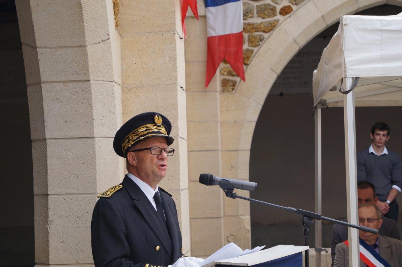 Le préfet de la Marne Denis Conus.