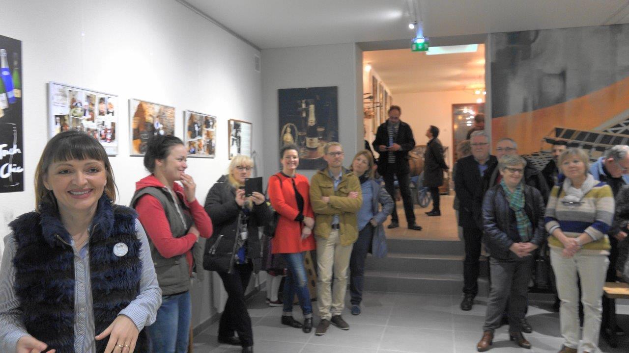 La salle de réception accueillera évènements festifs et expositions d'art.