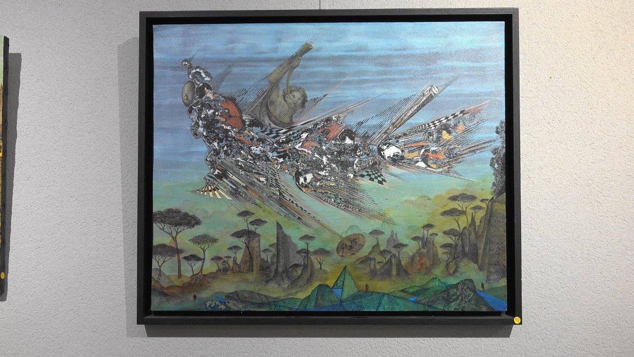Les peintures surréelles de Jacques Massard.