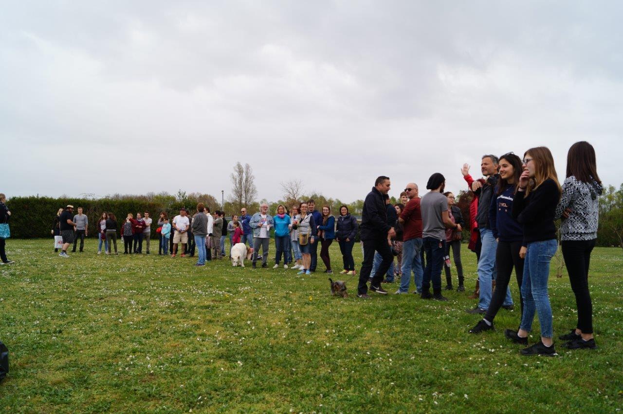 54 participants ont investi les installations du camping La Vallée de la Seine.