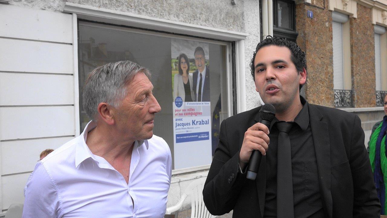Abdel est un Marcheur du canton de Fère-en-Tardenois depuis novembre 2016.