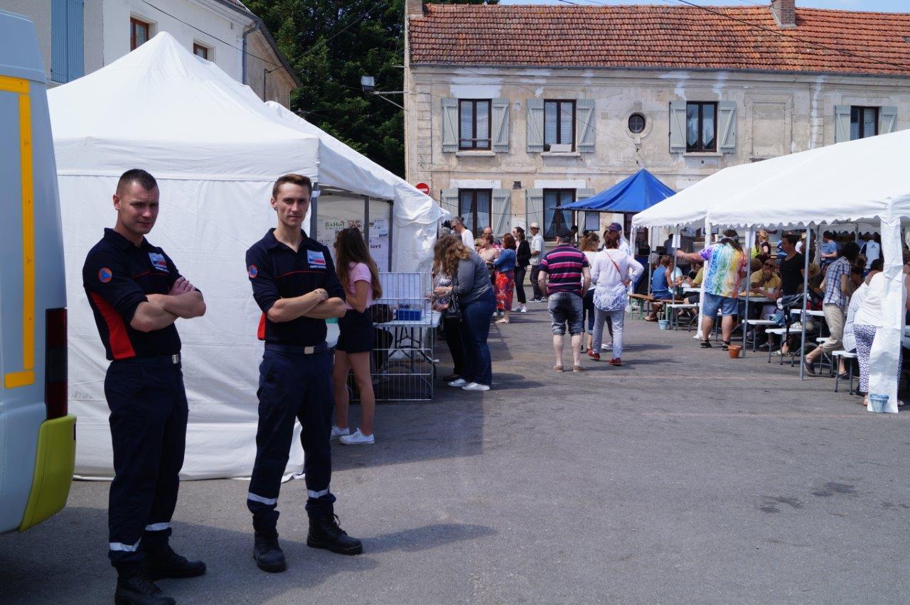 L'Union départementale des premiers secours de l'Aisne veille au grain.