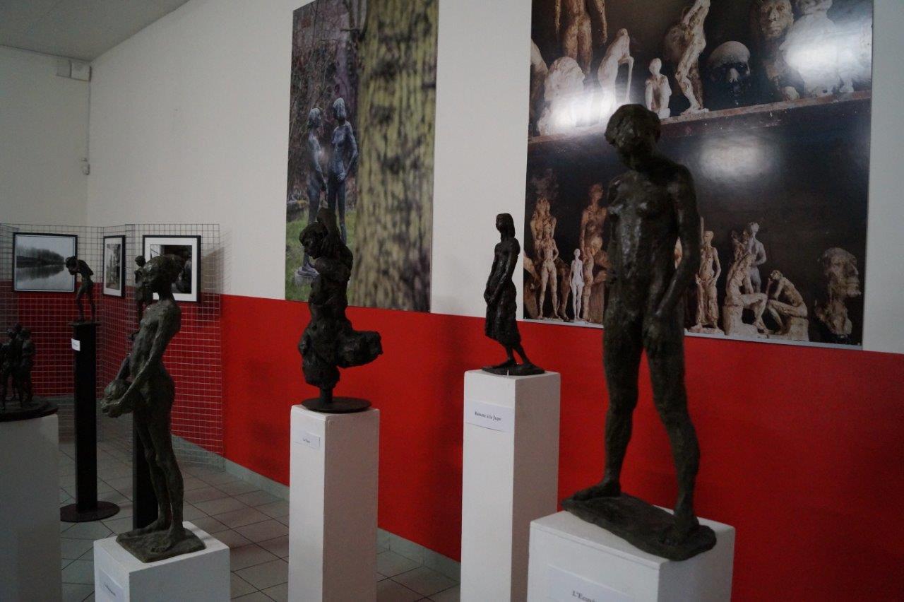 Le sculpteur Charles Gadenne fondait lui-même ses oeuvres.