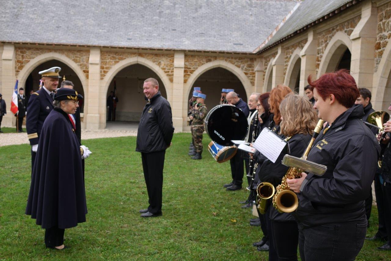 ...comme également la Musique municipale de Dormans sous la direction de son chef Grégory Veignie.