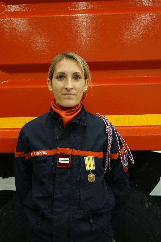 L'infirmière Flavie Hennequin est promue au grade d'Infirmière principale.