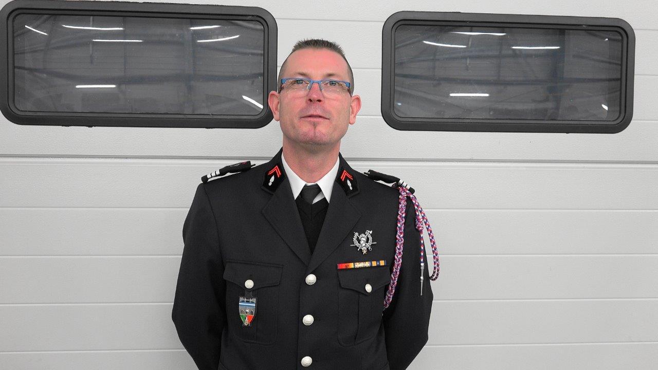 Le lieutenant Pascal Briand est promu capitaine.