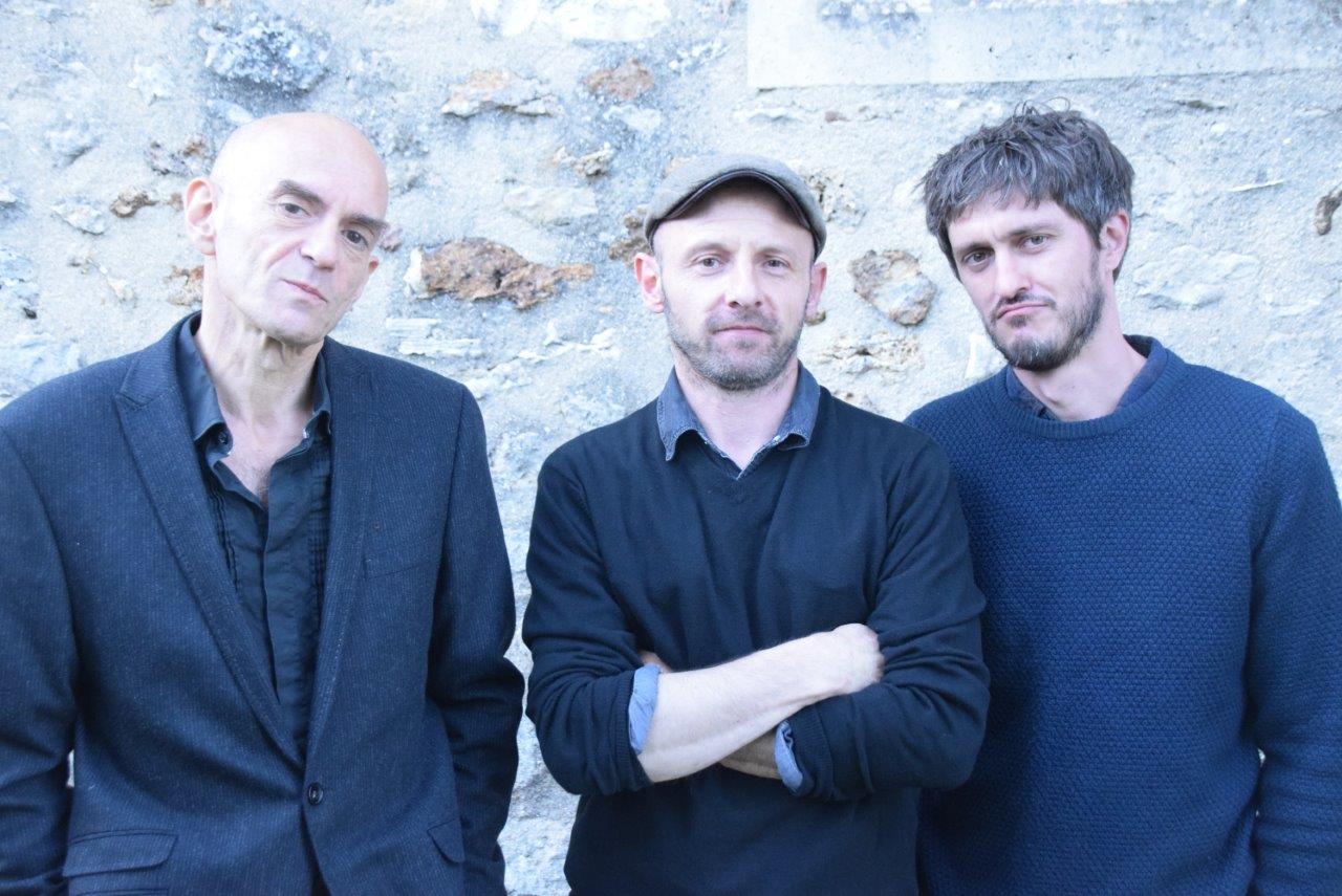 De gauche à droite : Boris Pélosof, Tony Viez et Damien Pouillart.