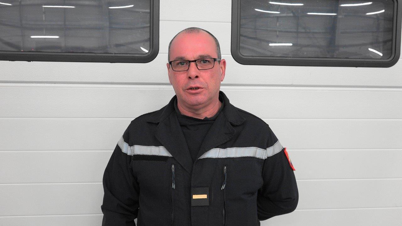 Le sergent-chef Didier Tournant est promu adjudant.