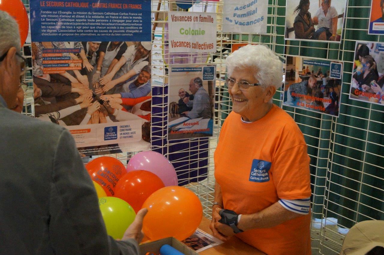 Âgée de 87 ans, Jeannine Loriot est la figure emblématique du Secours Catholique.