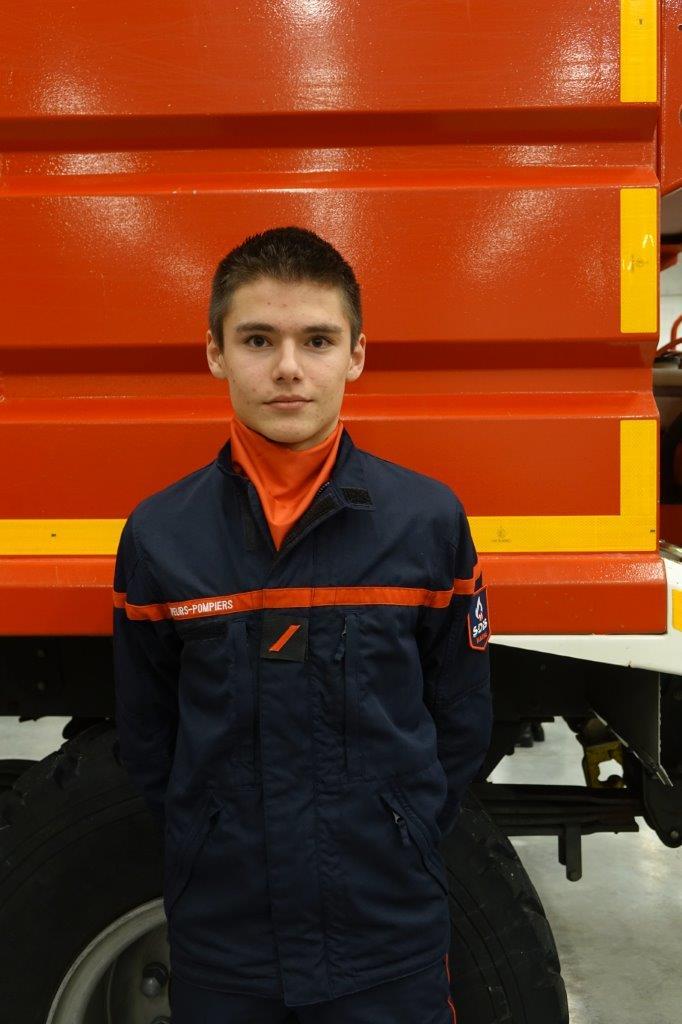 Le sapeur Tanguy Sourdet est promu au grade de Sapeur 1ère Classe.