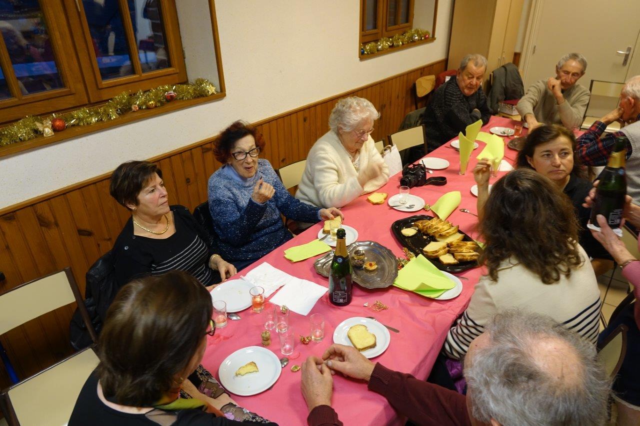 Les seniors ont répondu à l'invitation de la municipalité odonienne.