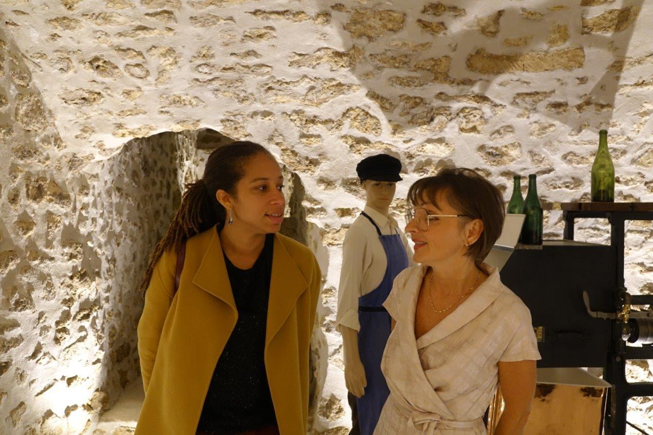 Natalie William a visité le musée consacré à la vigne et au vin.