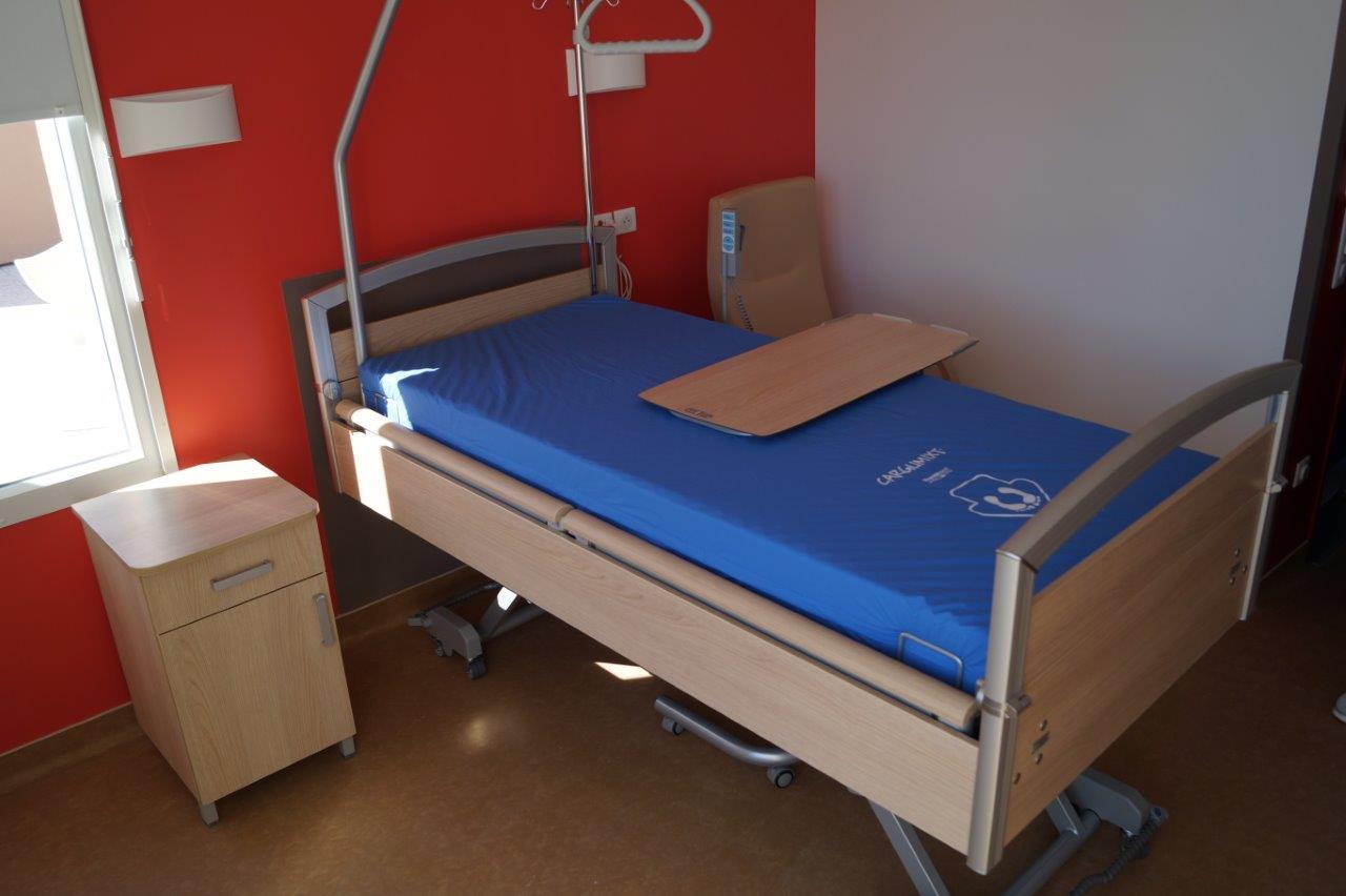 L'établissement dispose de 42 chambres individuelles de ce type...