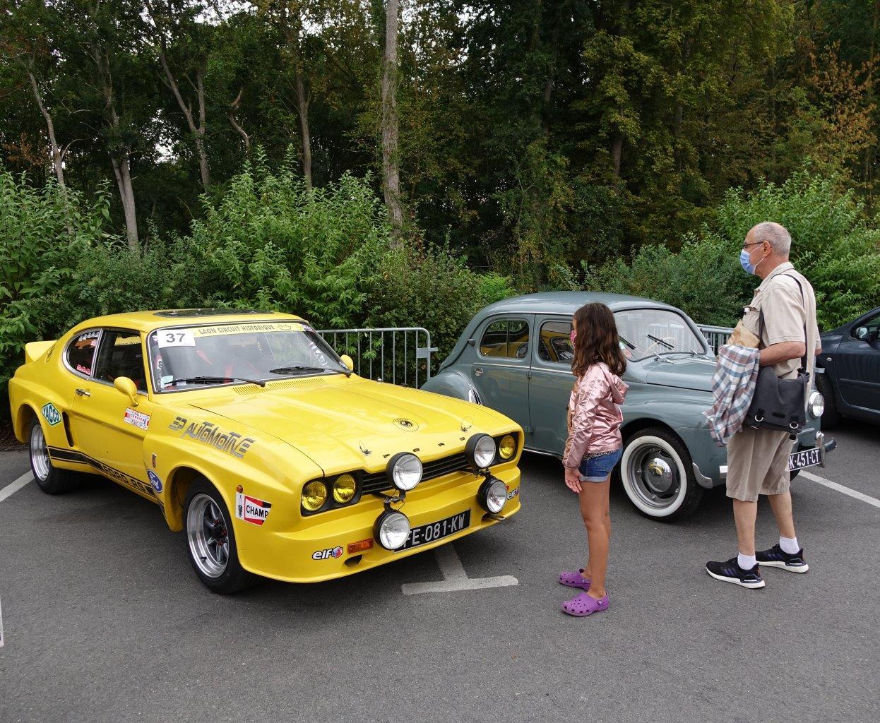 Il y avait des voitures anciennes pour tous les âges...