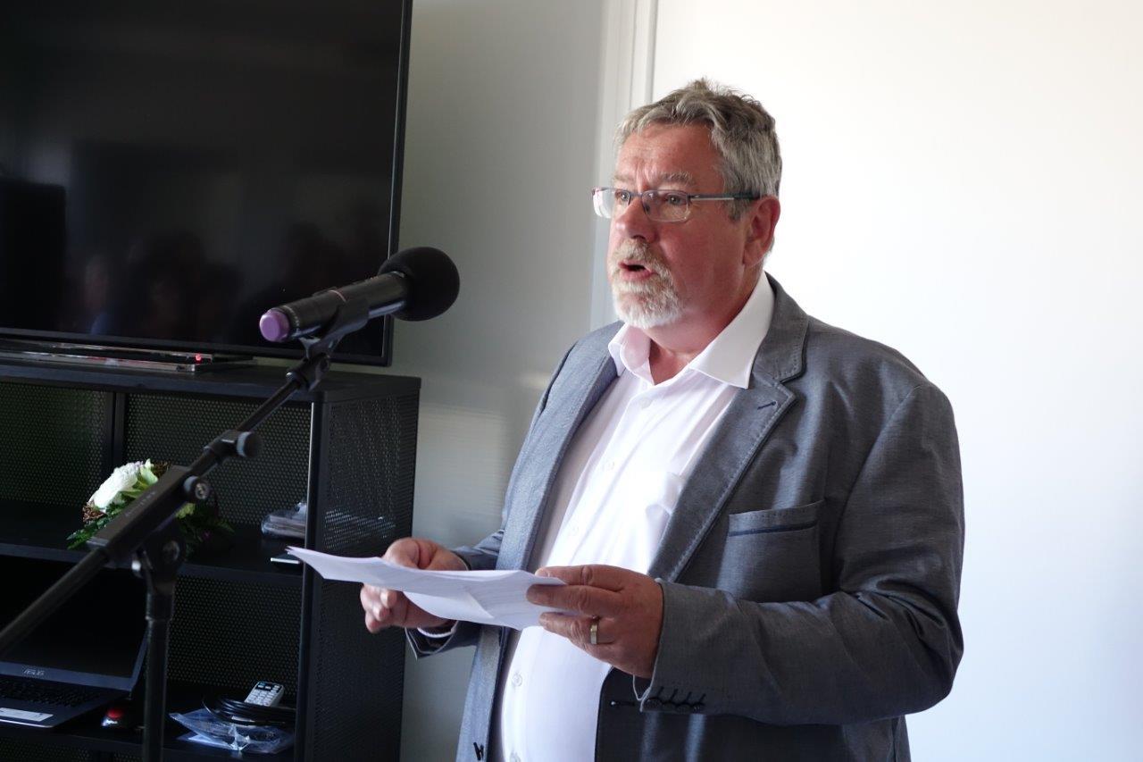 Philippe Dumont est le président de l'association Dormans coworking.
