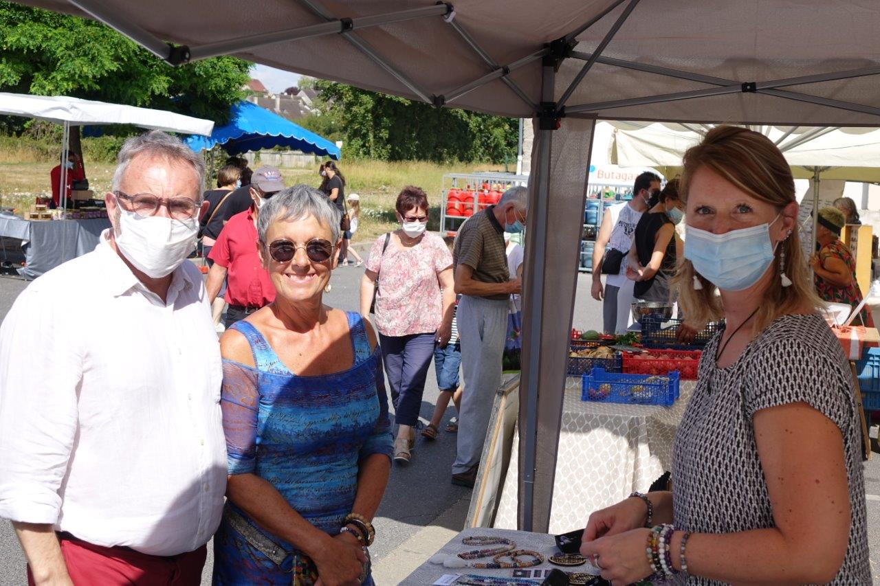 Dominique Moyse à la rencontre des nouveaux artisans de proximité.