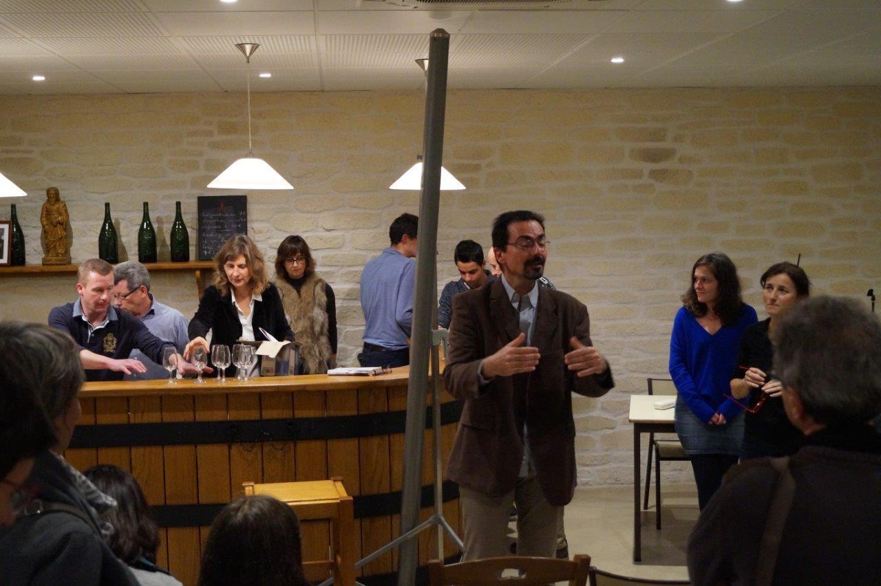 La culture du vin de Champagne avec Sébastien Higonet est un vrai plaisir.