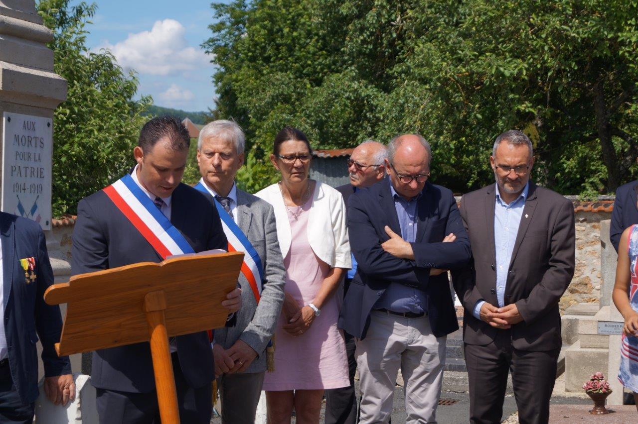 De gauche à droite : Jordane Beauchard, Eric Assier, Anne maricot, Etienne Haÿ, et Dominique Moyse.