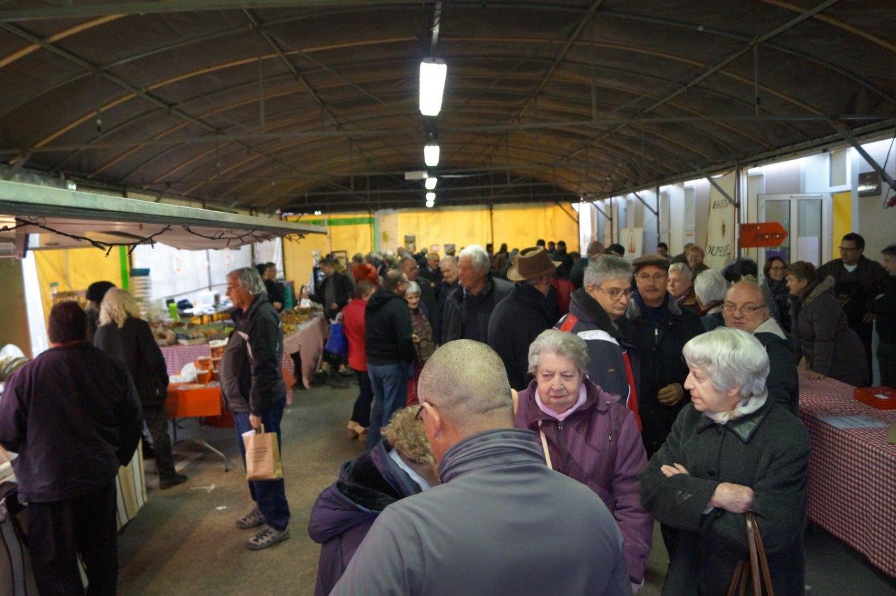 Petite organisation ou pas, le public est venu nombreux au Breuil.