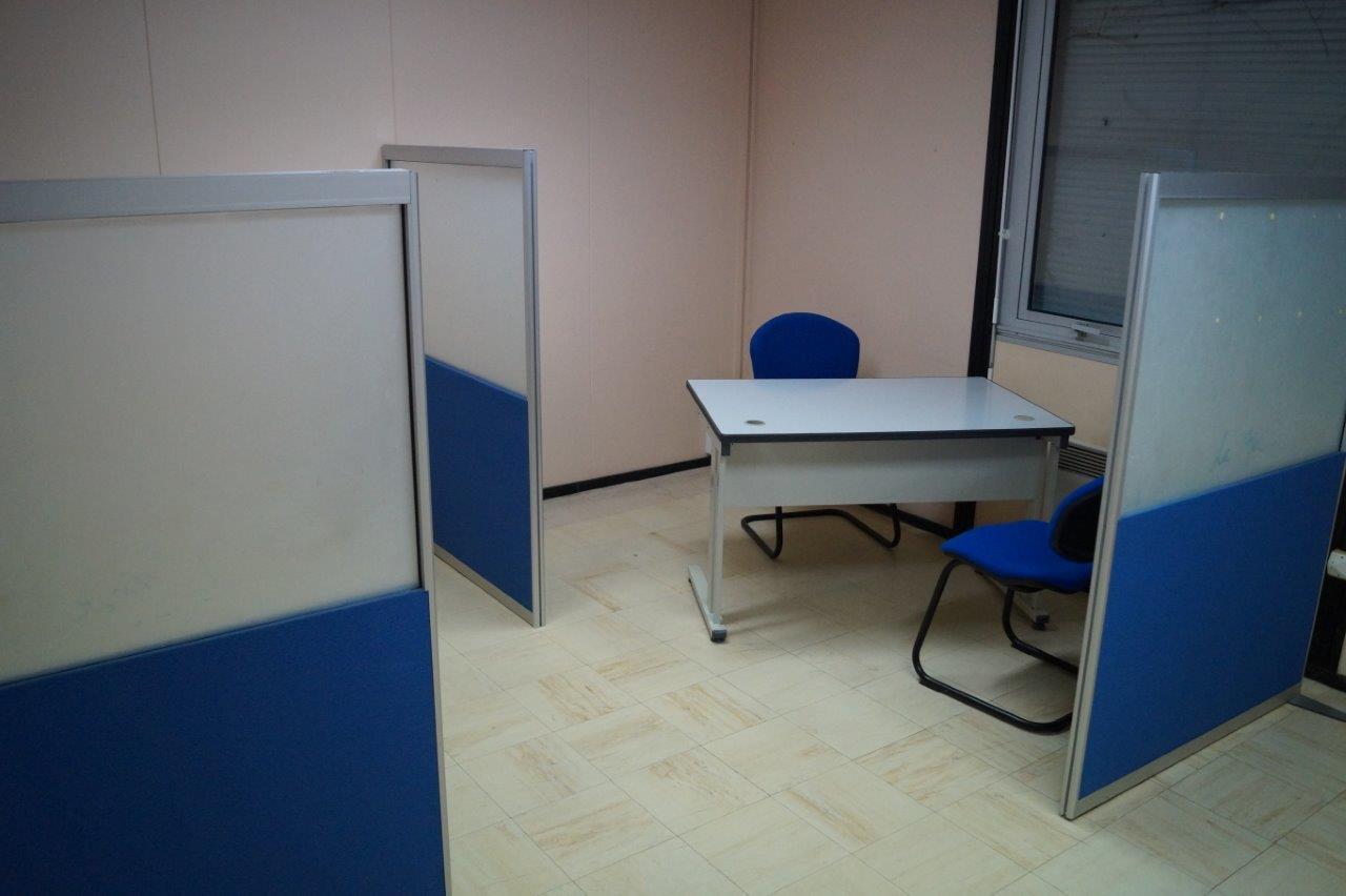 Trois bureaux sont dédiés au télétravail.
