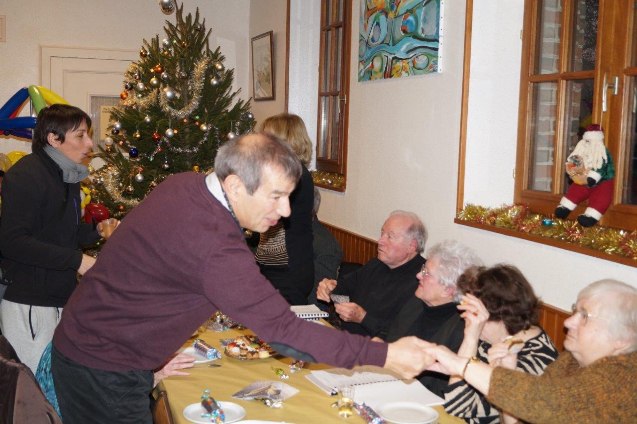 Bruno Lahouati, maire de la commune nouvelle Vallées-en-Champagne, est venu assister au spectacle.
