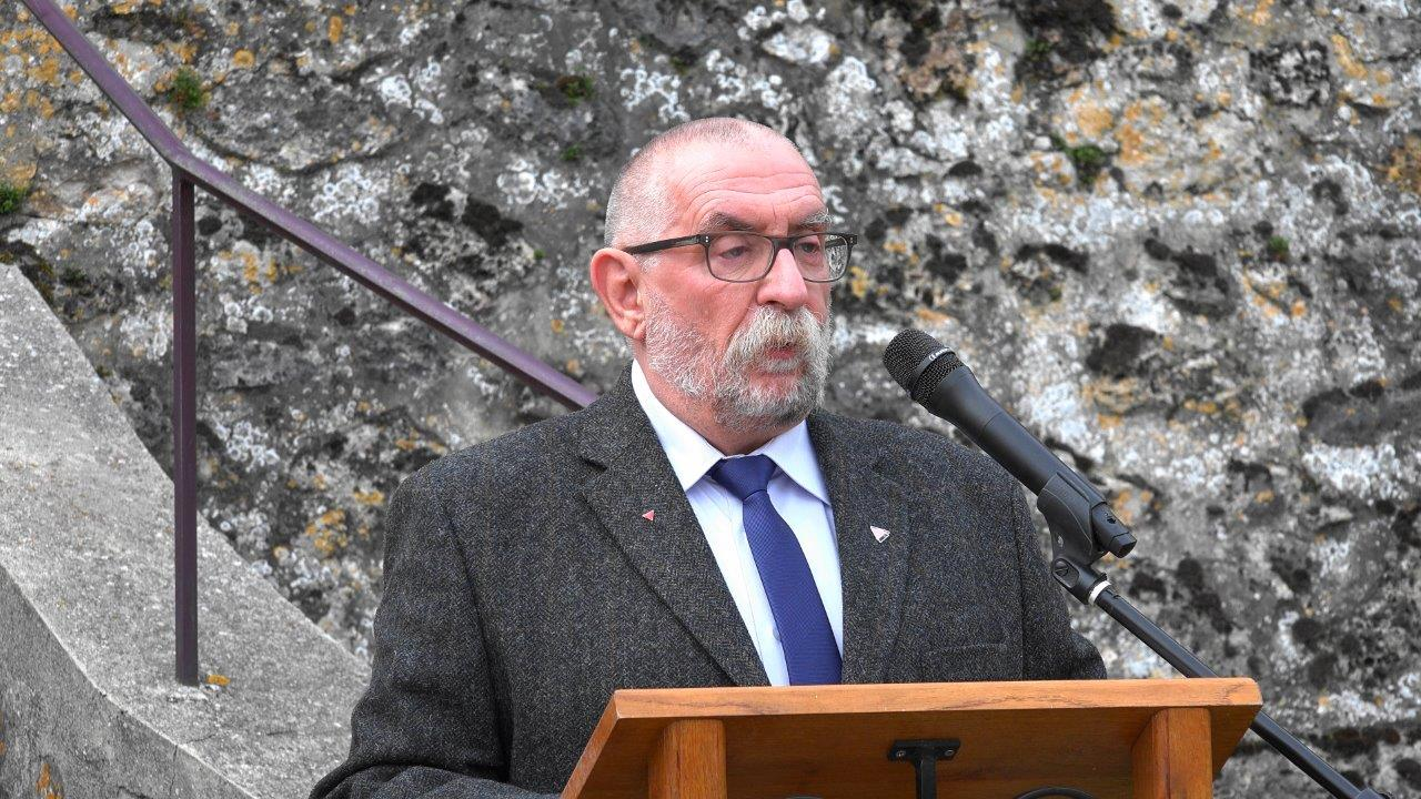 Jean-Marc Ridet-Debrus, président de l'association Les OubliéEs de la Mémoire.