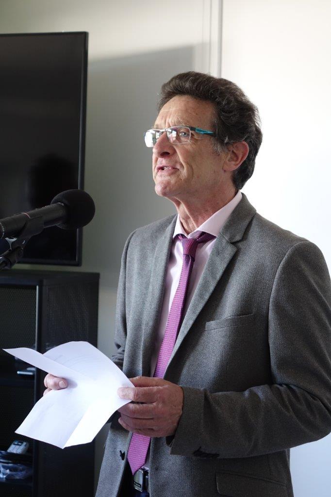 Michel Courteaux est le maire de Dormans, dans le département de la Marne, depuis le 17 novembre 2017.