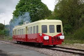 Le train touristique de TFBCO roule sur la ligne 22², entre Montmirail dans la Marne et Artonges dans l'Aisne.