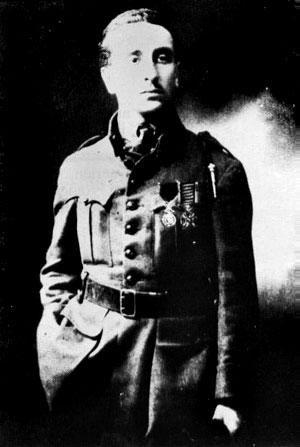 L'aviateur Xavier Moissinac.