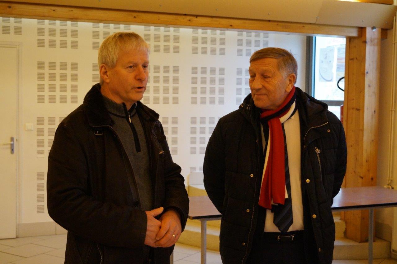 Eric Assier et Jacques Krabal sont ravis de cette nouvelle acquisition.