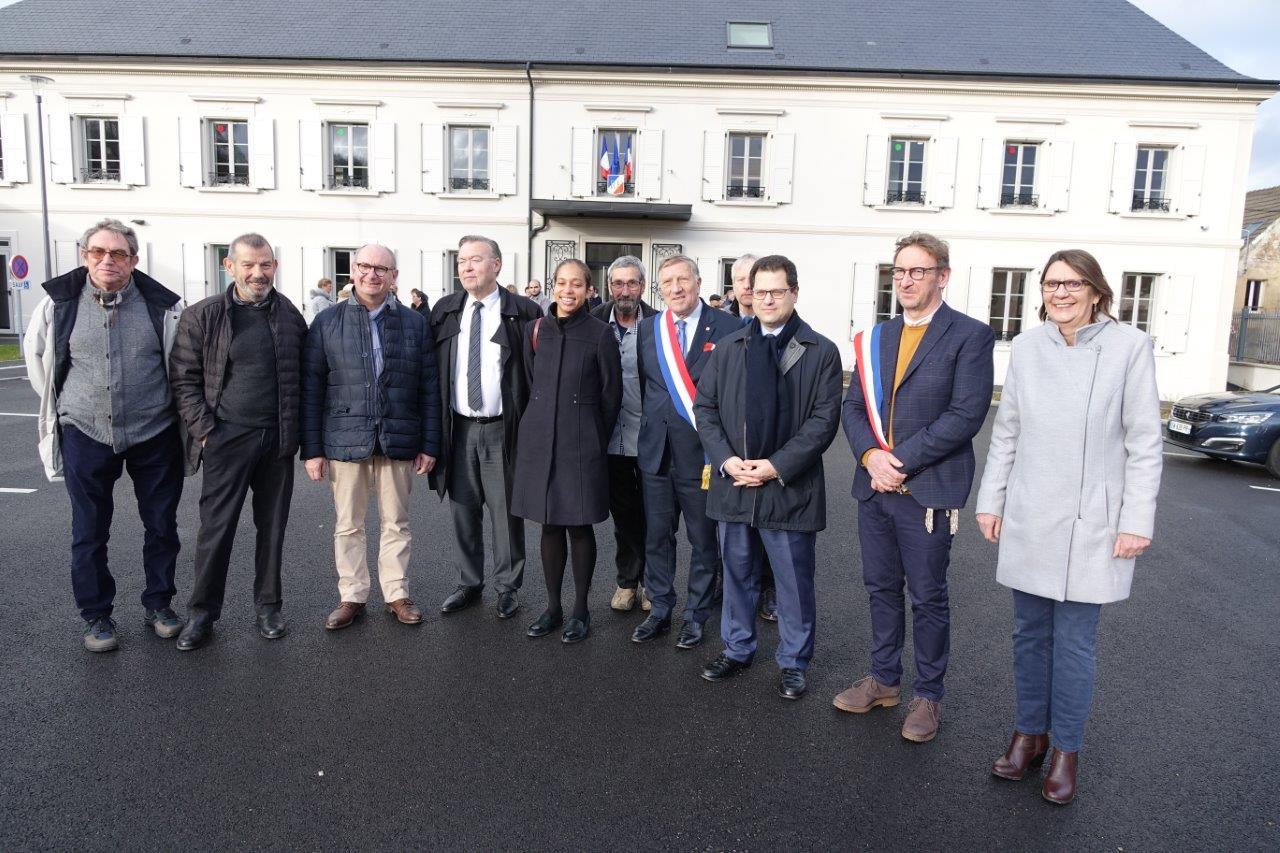 De gauche à droite : Jacques Durthaler, Bruno Lahouati, Étienne Haÿ, Georges Fourré, Natalie William, Jean-Jacques Bohain, Éric Assier, Jacques Krabal, Ziad Khoury, Éric Mangin et Anne Maricot.