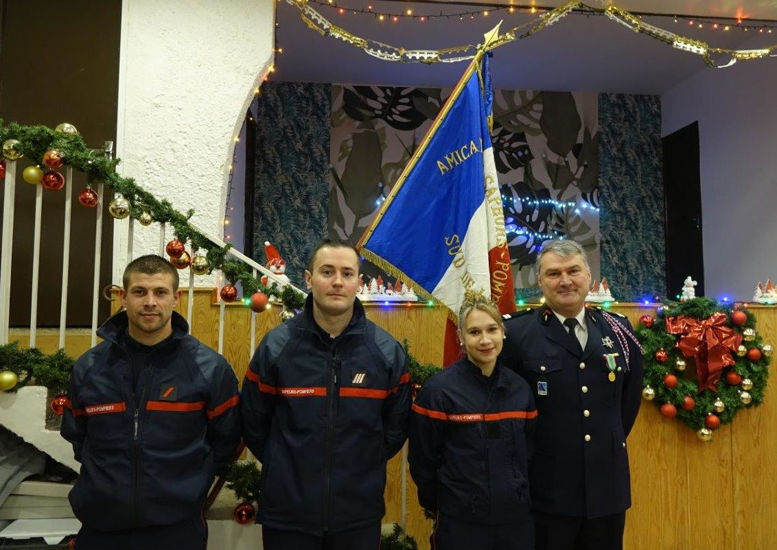 Sainte-Barbe aime mettre à l'honneur les sapeurs-pompiers.