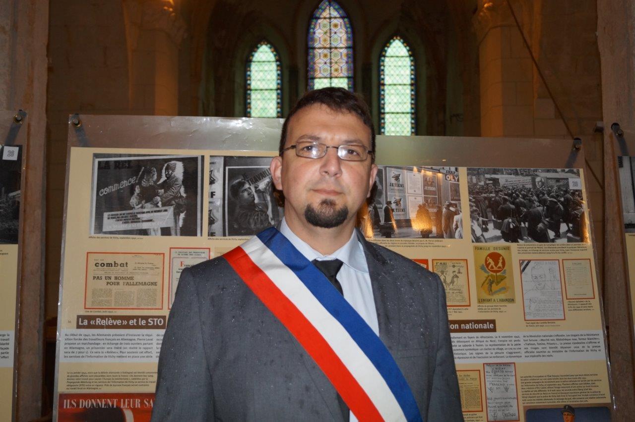 Olivier Casside a eu un grand-père victime du travail forcé en Allemagne nazie.
