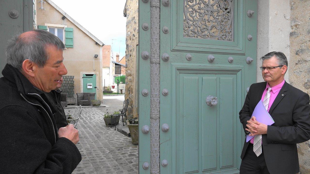 Baulne-en-Brie : une ancienne porte cochère de la prison de la Petite-Roquette à Paris a été restaurée par les élèves du lycée Jules Verne de Château-Thierry.