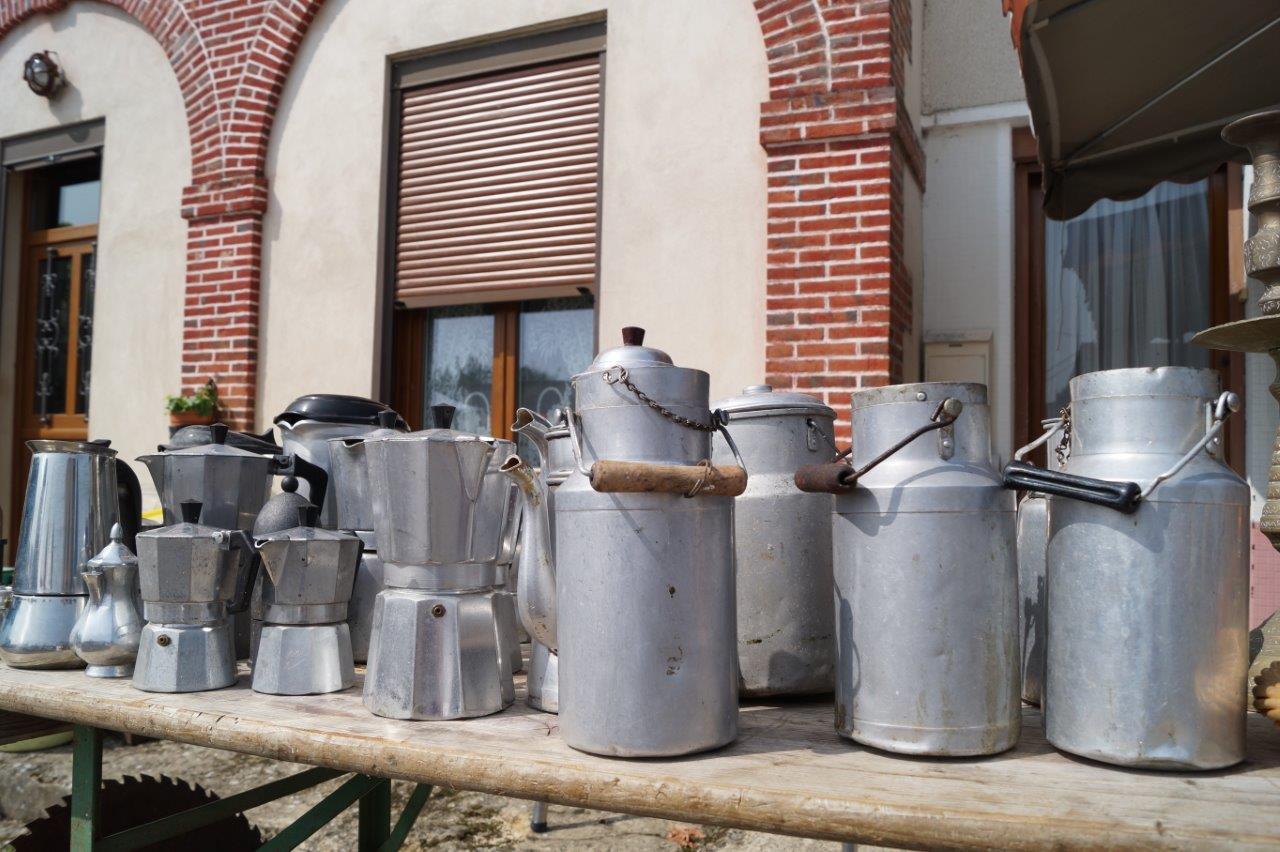 """En Dauphiné, le pot à lait en fer blanc portait le nom de """"Berthe""""."""