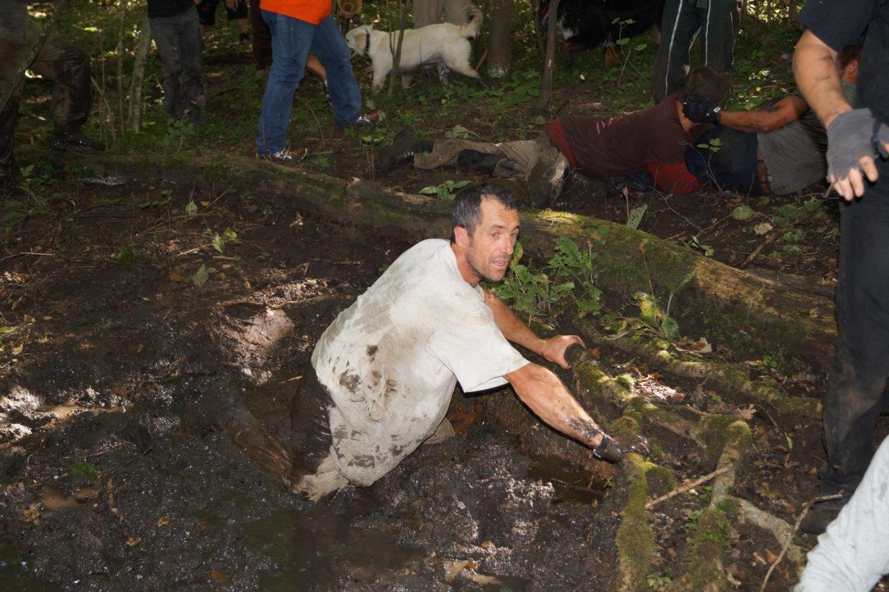 Un bain de boue ne peut pas faire de mal.
