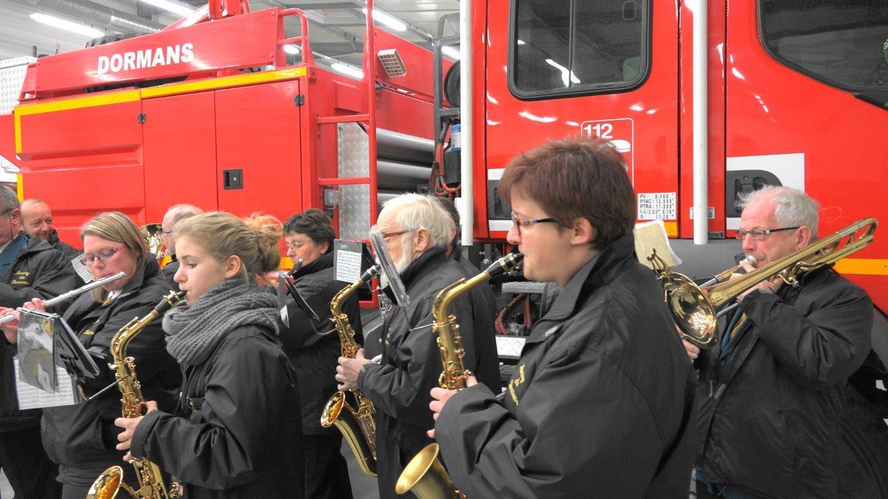 La Musique municipale de Dormans a rythmé la cérémonie.