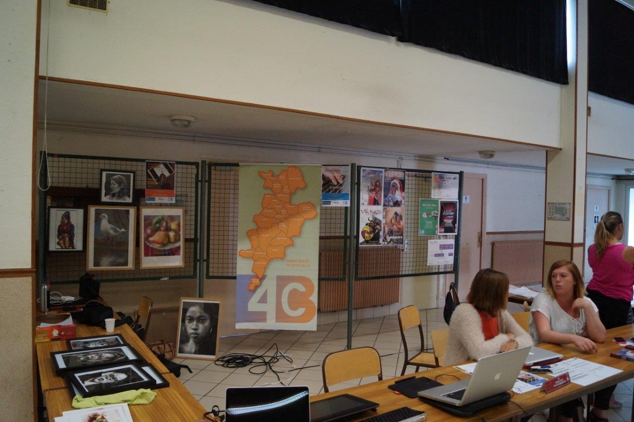 Picardie en ligne, Accueil de loisirs... : les services de la 4CB en lien direct avec le public s'affichent.