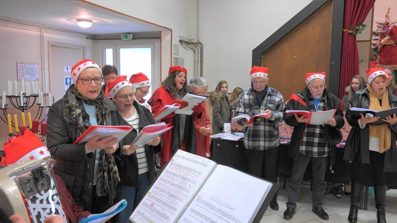 Une autre performance, vocale celle-là, avec Les Galoupiots de Dormans dans la Marne.