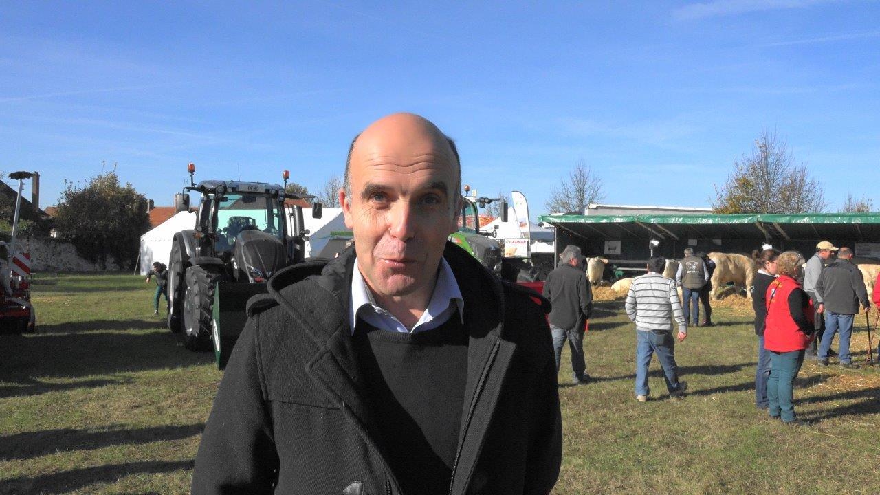 Etienne Dhuicq, maire de Montmirail.