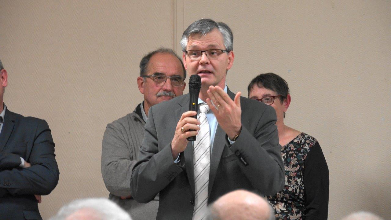 Ronan Léaustic, sous-préfet de l'arrondissement de Château-Thierry.