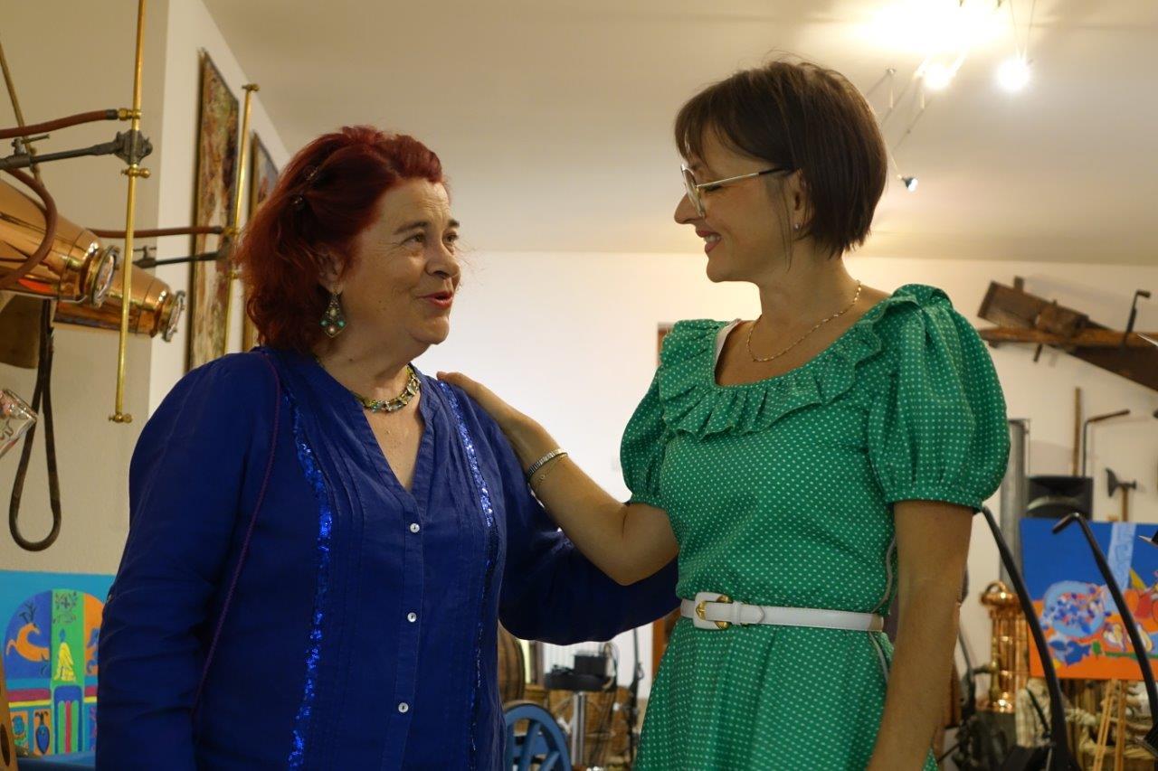 De gauche à droite : Colette Garcia Profumo et Anna Météyer.