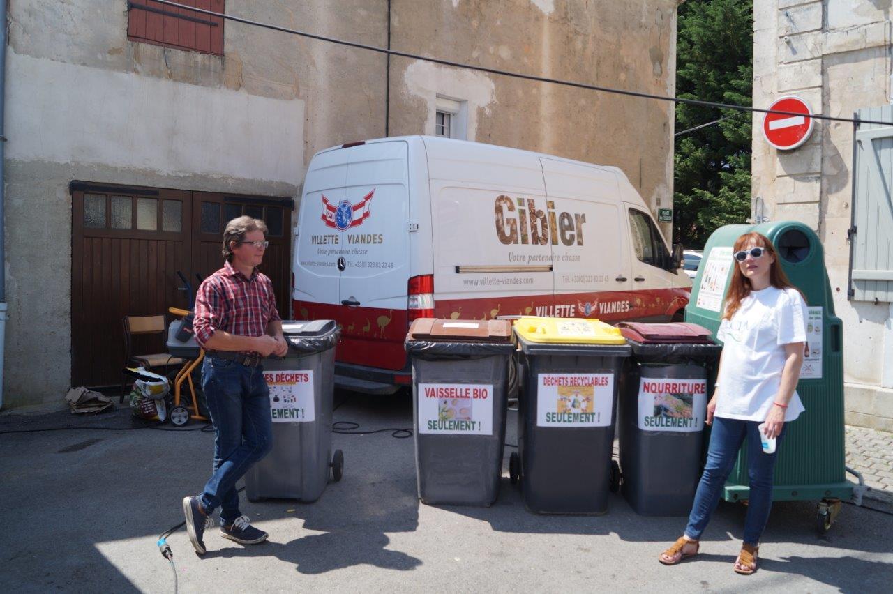 Le tri sélectif a permis de réduire notablement le poids des ordures ménagères.