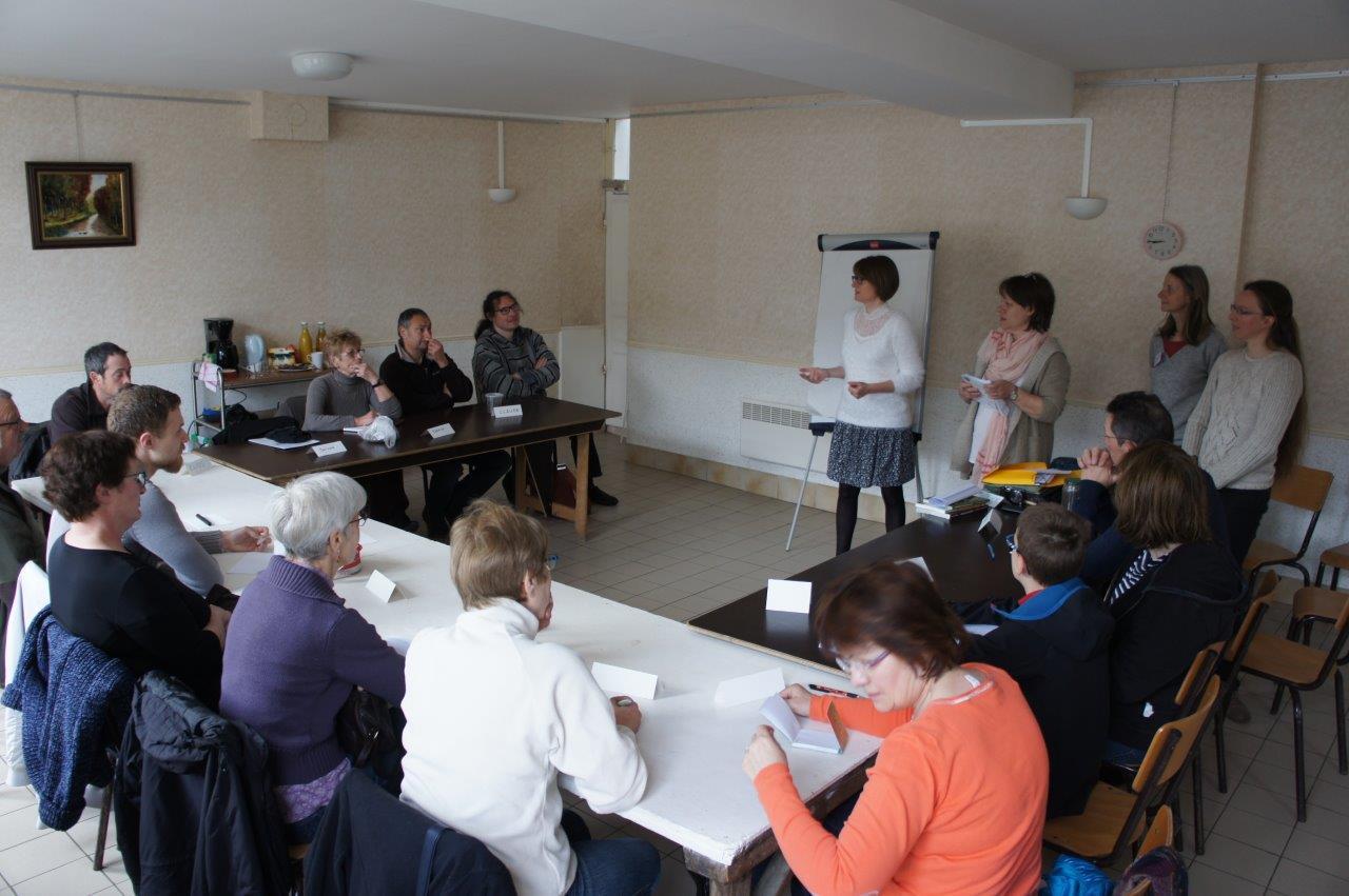 15 participants se sont retrouvés salle du Moulin à Baulne-en-Brie.