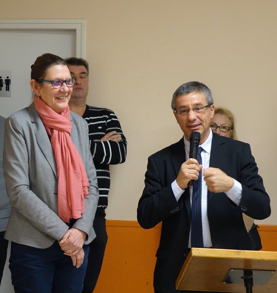 De gauche à droite : Anne Maricot et Nicolas Fricoteaux sont élus au Conseil départemental de l'Aisne depuis 2015.