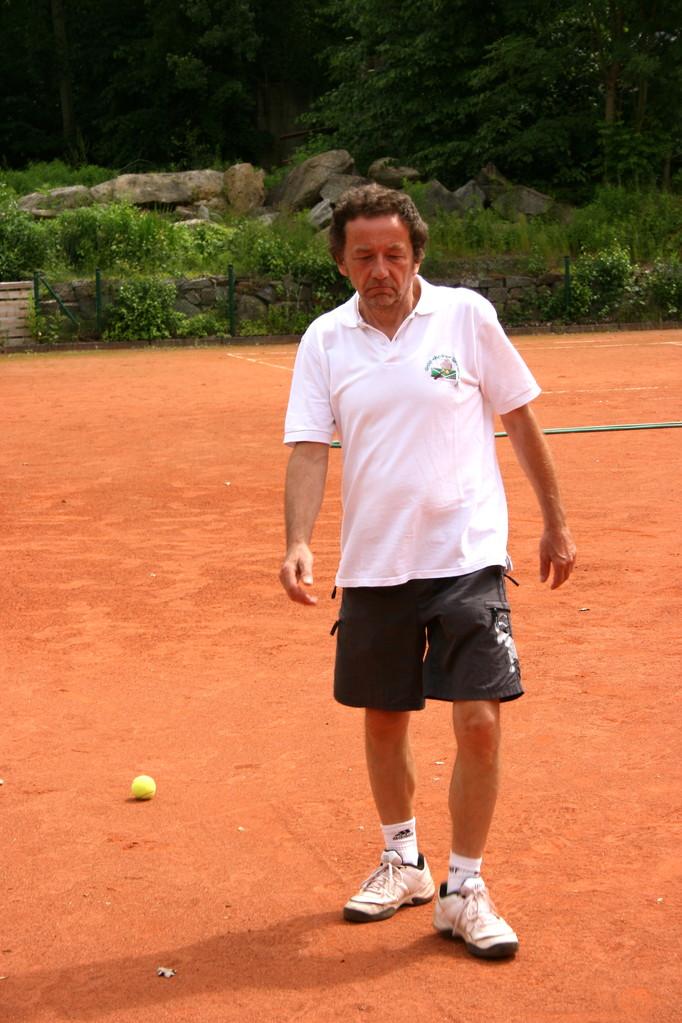 Bernd vom Gräfenhainer Tennisverein