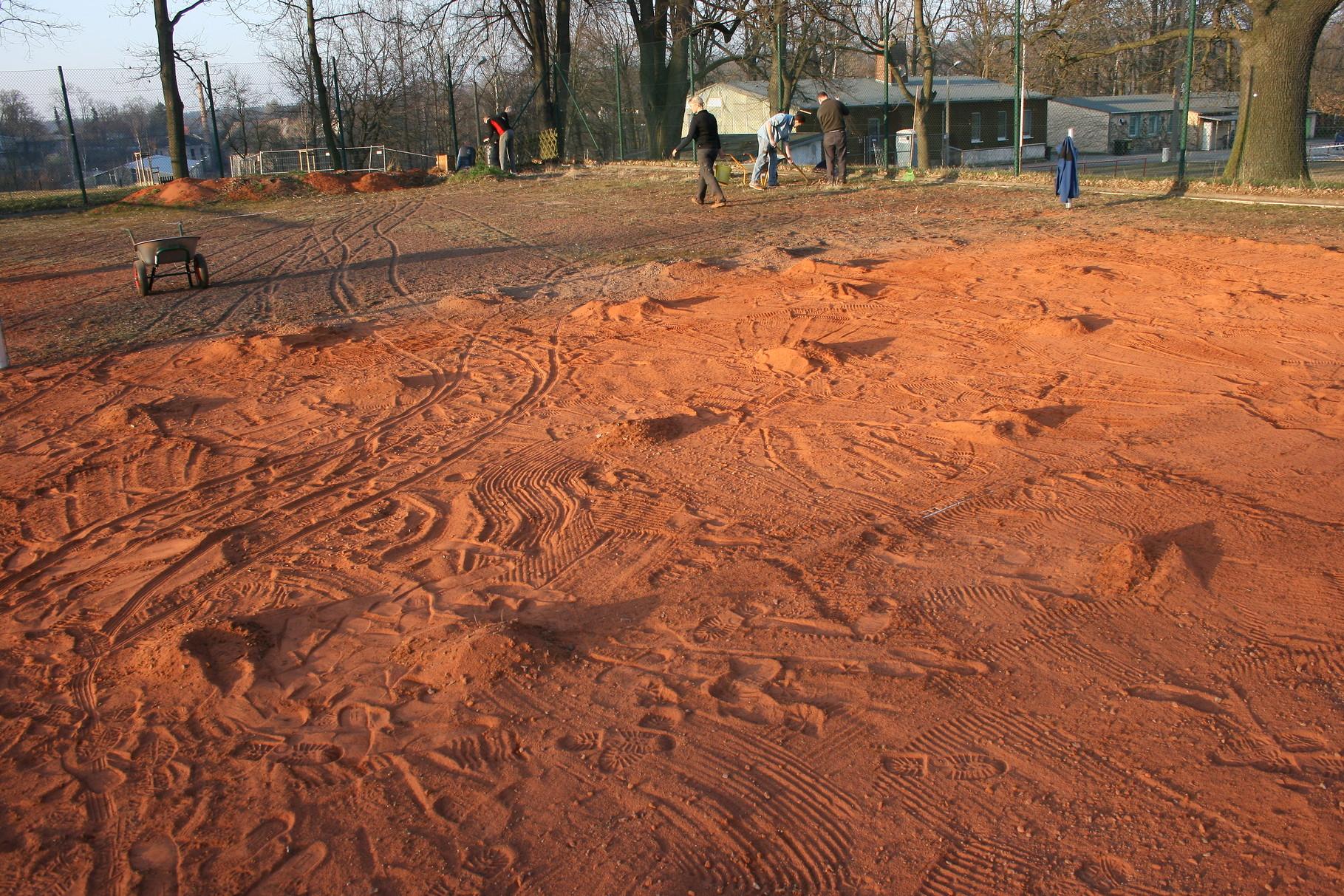 Kraterlandschaft mit Moosanteil II